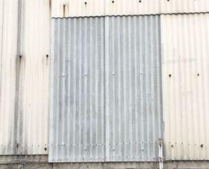 小波 スレート 波板 施工修繕工事