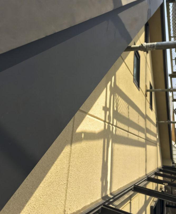 破風板巻き 金属屋根