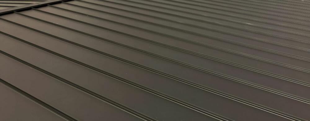 屋根 立平 縦葺き