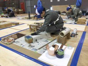 第41回 全国建築板金競技大会 技能競技の部 片手桶 2位 製作中