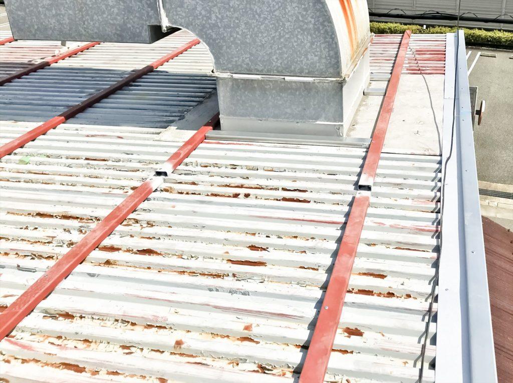 鉄板波板 鉄板大波 カバー工法 キーストンプレート03
