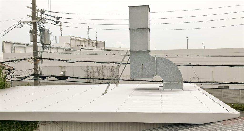 鉄板波板 鉄板大波 カバー工法 キーストンプレート07